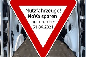 NoVa für Nutzfahrzeuge sparen
