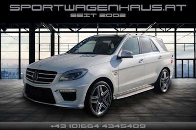 Mercedes-Benz ML 63 AMG 4matik, Vollaustattung, Standheiz., Gelegenheit!!! bei Sportwagenhaus.at Scheuringer Sportwagen in