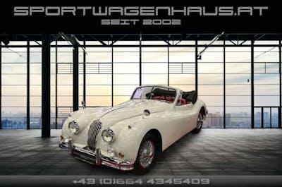 Jaguar XK XK 140 DHC Convertible bei Sportwagenhaus.at Scheuringer Sportwagen in
