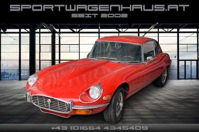 Jaguar E-Type E-Type V12 Coupe 2+2 Automatik bei Sportwagenhaus.at Scheuringer Sportwagen in