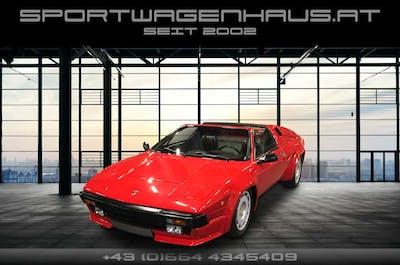 Lamborghini Jalpa Jalpa P350, nur 36000km, österr. Erstausliefer. bei Sportwagenhaus.at Scheuringer Sportwagen in