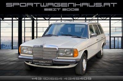 Mercedes-Benz E 200 200 T W123, Klimaanlage, elektr. FH, rostfrei! bei Sportwagenhaus.at Scheuringer Sportwagen in