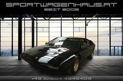 Lamborghini Urraco P250 VERKAUFT!!! Urraco P250S Toprarität,Nero / Nero bei Sportwagenhaus.at Scheuringer Sportwagen in