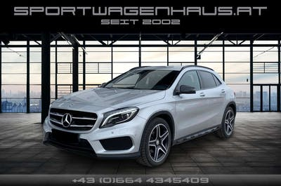 Mercedes-Benz GLA 200 d Aut. AMG Paket, Toppausstattung! bei Sportwagenhaus.at Scheuringer Sportwagen in