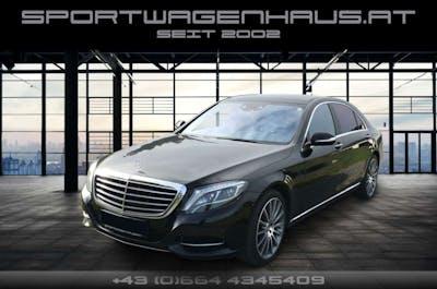 Mercedes-Benz S 500 4MATIC lang Aut. nur 42TKM, MWST. Service Neu bei Sportwagenhaus.at Scheuringer Sportwagen in