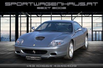 Ferrari 575 M Maranello F1, Ö-Auslief, Serviceheft, Perfekt bei Sportwagenhaus.at Scheuringer Sportwagen in