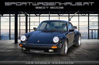 Porsche 911 930 Turbo 3.3 Schwarz Uni, Erstlack, perfekt! bei Sportwagenhaus.at Scheuringer Sportwagen in