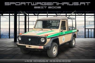 """Puch G 230 GE Automatik, orig. Filmauto """"Der Bergdoktor"""" bei Sportwagenhaus.at Scheuringer Sportwagen in"""