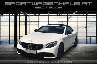 Mercedes-Benz S 63 AMG S-Klasse Cabrio (C217) S63  4MATIC Cabrio Aut. bei Sportwagenhaus.at Scheuringer Sportwagen in