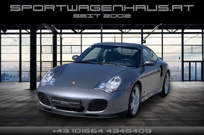 Porsche 911 996 Turbo WLS Tiptronic, nur 36000KM, perfekt!!! bei Sportwagenhaus.at Scheuringer Sportwagen in