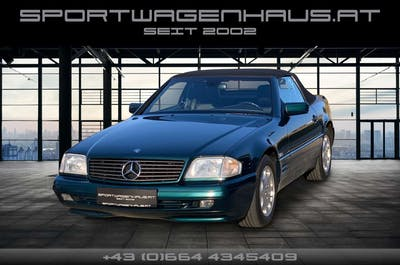Mercedes-Benz SL 320 Roadster Aut. bei Sportwagenhaus.at Scheuringer Sportwagen in