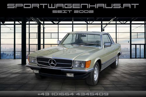Mercedes-Benz SLC 500 500 SLC C107, 2. Besitz, Sammlerstück bei Sportwagenhaus.at Scheuringer Sportwagen in