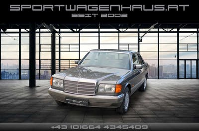 Mercedes-Benz 300 300SE Schalter, Klima, ESD, Velours, Serviceheft! bei Sportwagenhaus.at Scheuringer Sportwagen in