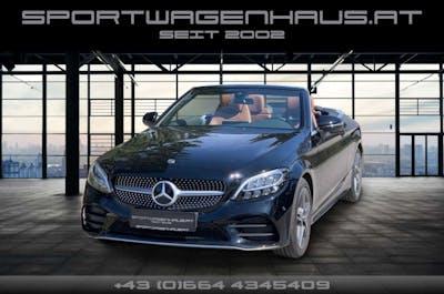 Mercedes-Benz C 200 Cabrio 9G-Tronic AMG Line, 1.Hand,MWST. ausweisbar bei Sportwagenhaus.at Scheuringer Sportwagen in