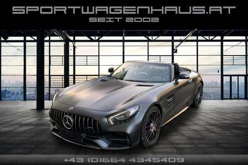 Mercedes-Benz AMG GT AMG GT Roadster Edition 50, 1 of 500, MWST ausweis bei Sportwagenhaus.at Scheuringer Sportwagen in