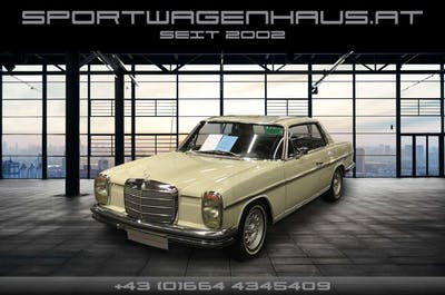 Mercedes-Benz 250 250 CE Coupe /8, restauriert, Top! bei Sportwagenhaus.at Scheuringer Sportwagen in
